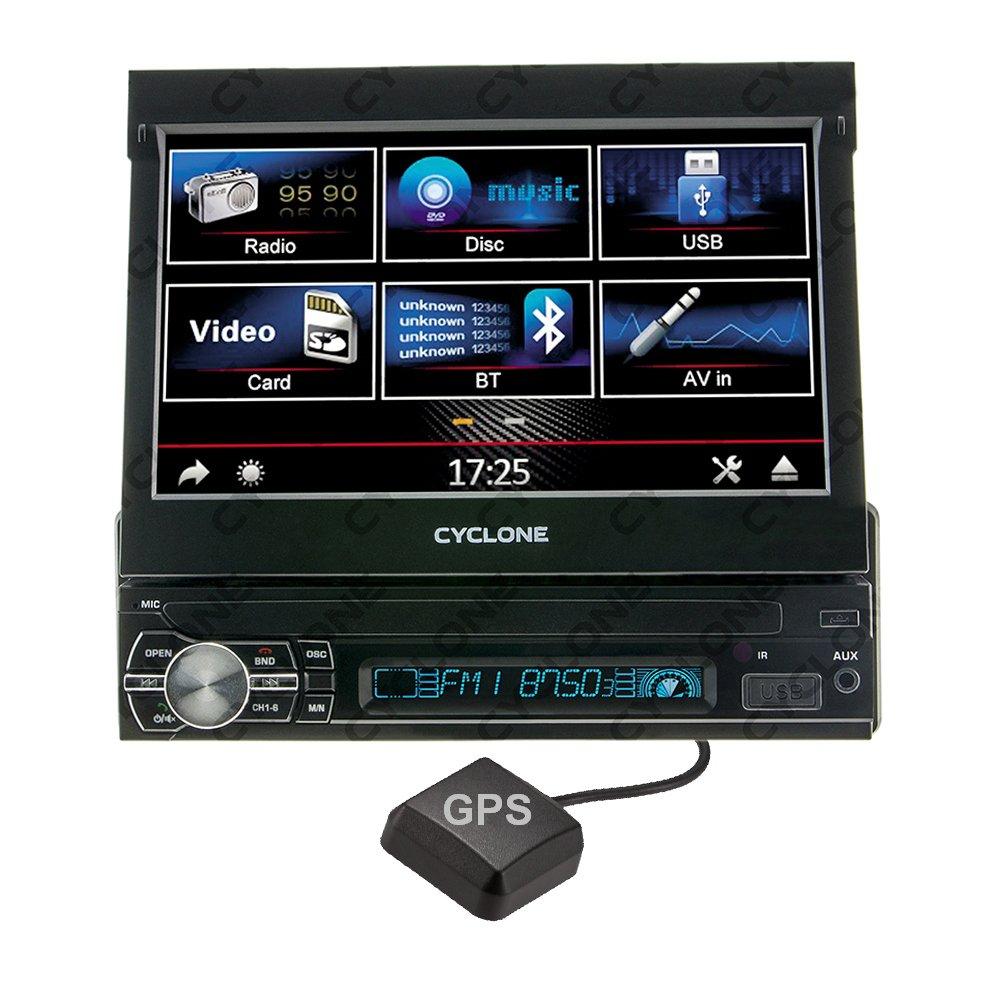 Автомагнитола CYCLONE MP-7057 GPS - Фото 1