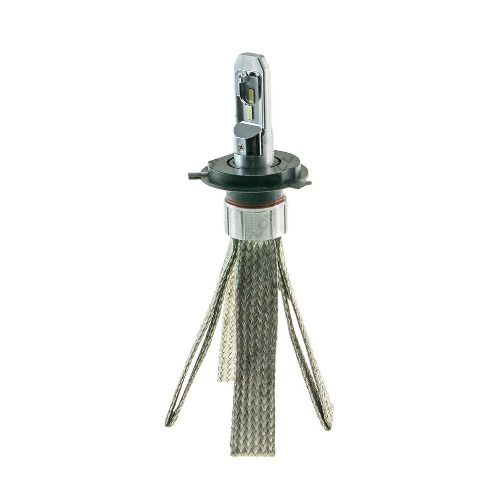 CYCLONE LED H4 H/L 5700K 4500Lm Ep type17v2 - Фото 1