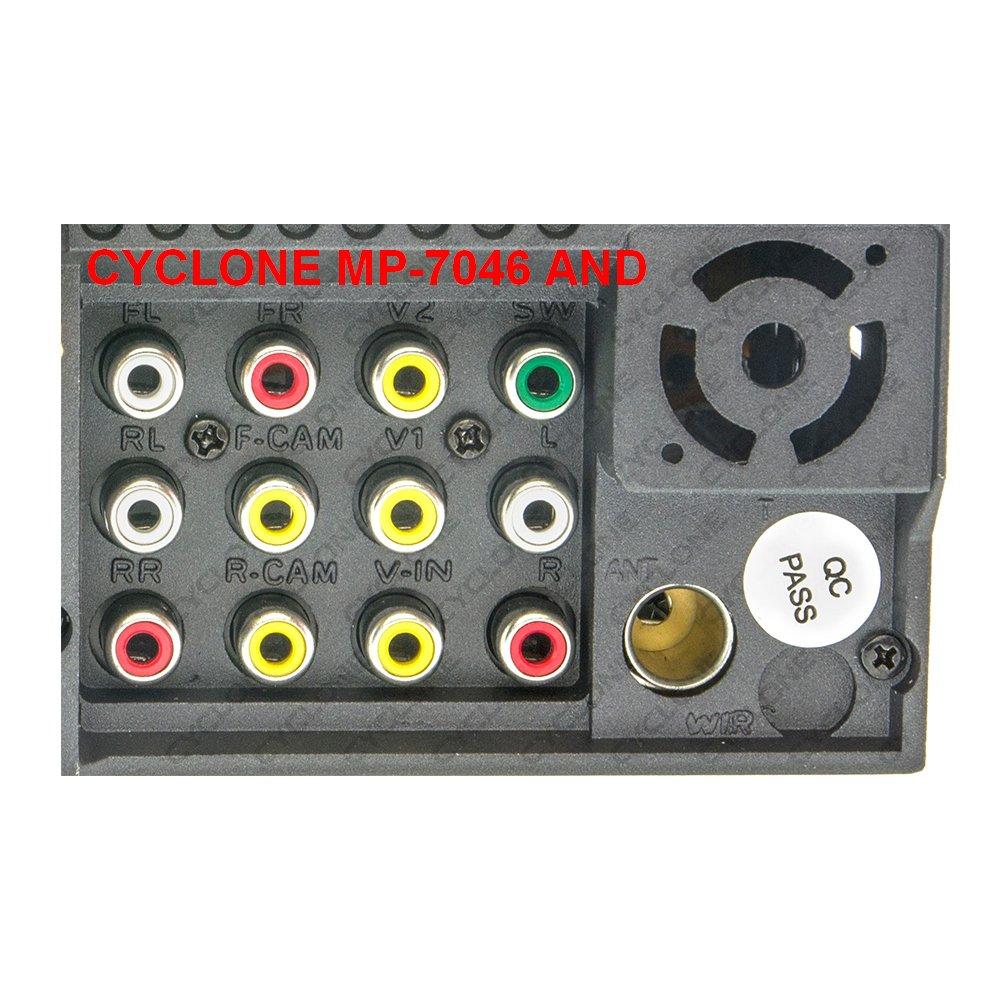 Автомагнитола CYCLONE MP-7046 AND