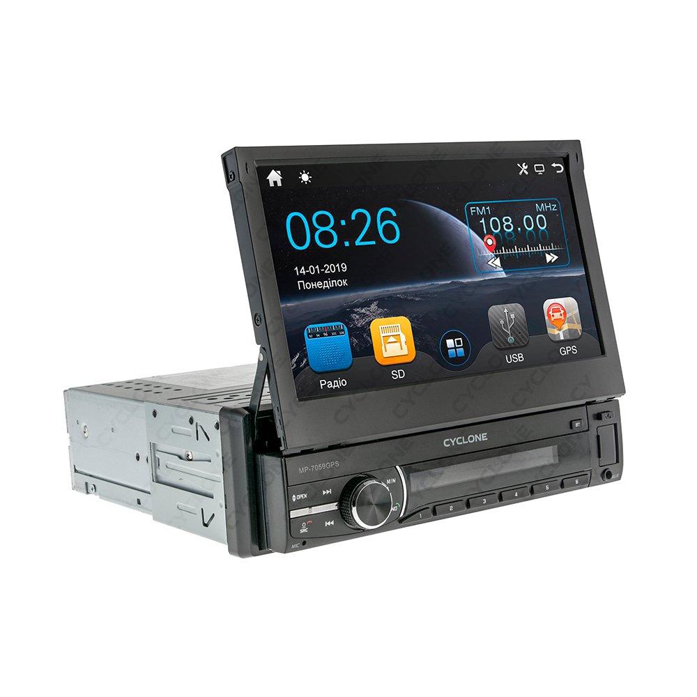 Автомагнитола CYCLONE MP-7059 GPS - Фото 2