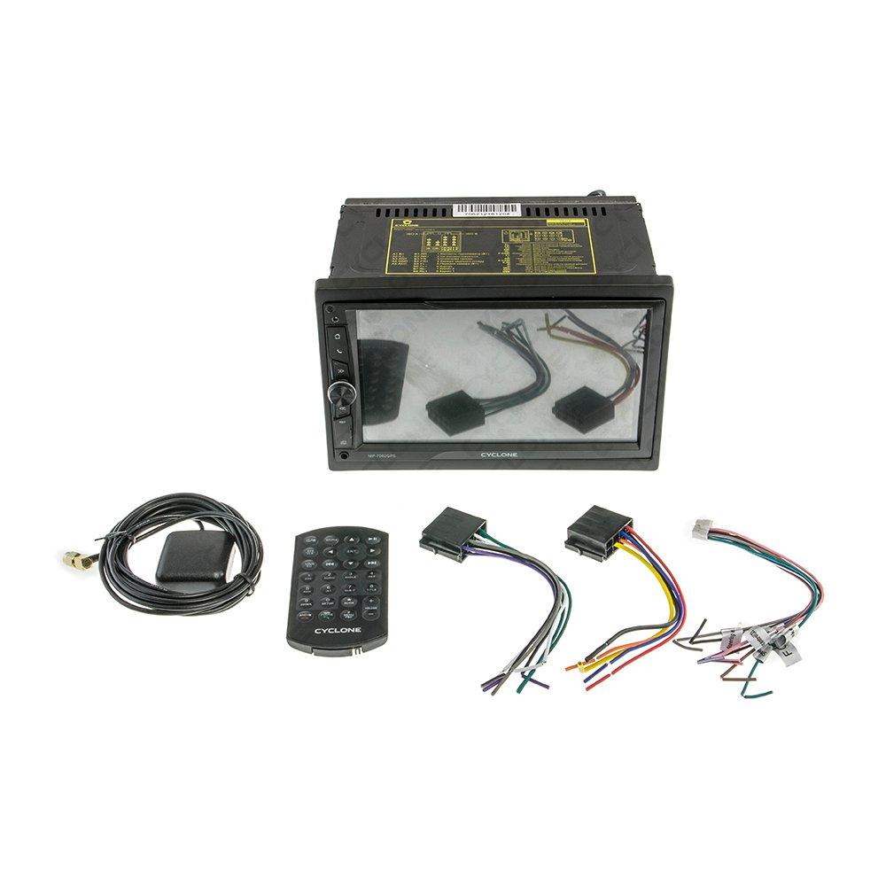 Автомагнитола CYCLONE MP-7062 GPS - Фото 3