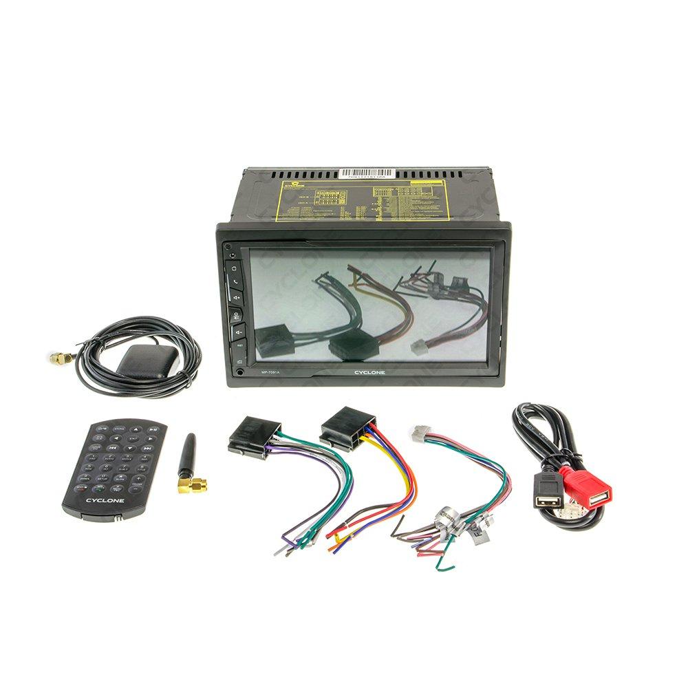 Автомагнитола CYCLONE MP-7091 A