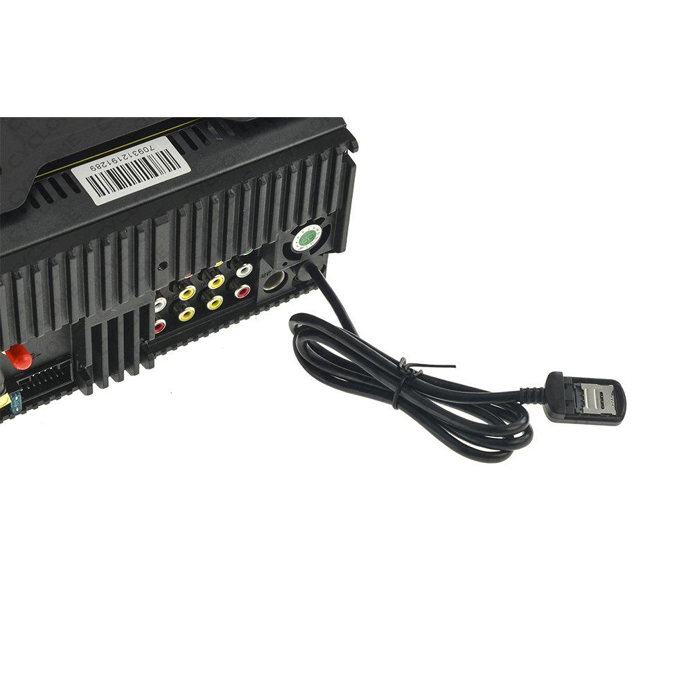 Автомагнитола CYCLONE MP-7093A