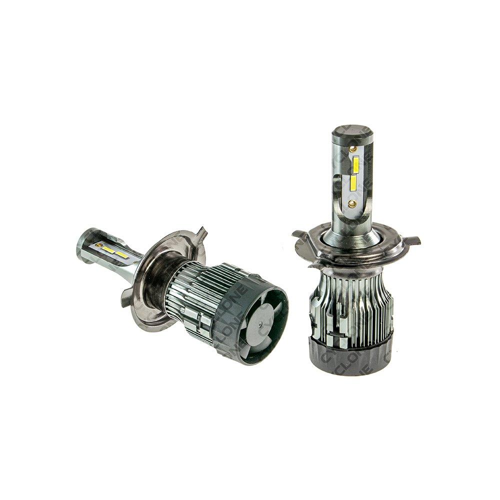 CYCLONE LED H4 H/L 6000K 5600Lm Ep type 24 - Фото 2