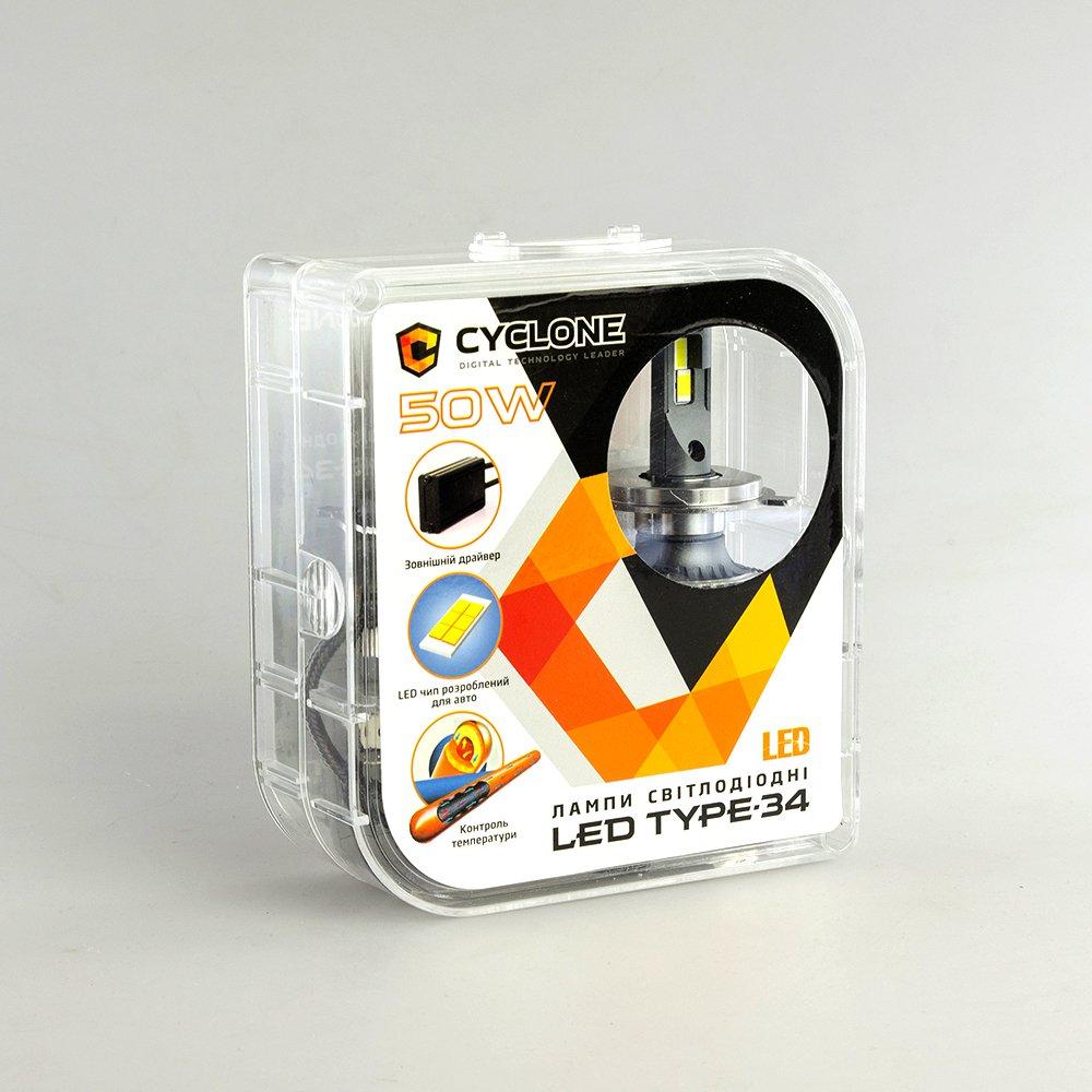 CYCLONE LED H7 5500K type 34 - Фото 4