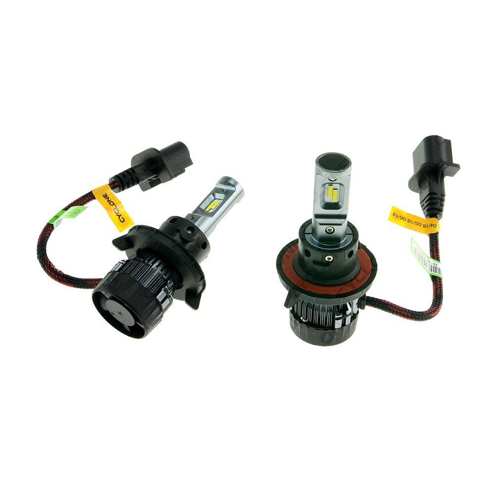 CYCLONE LED H13 H/L 6000K 5000Lm CR type 19 - Фото 2