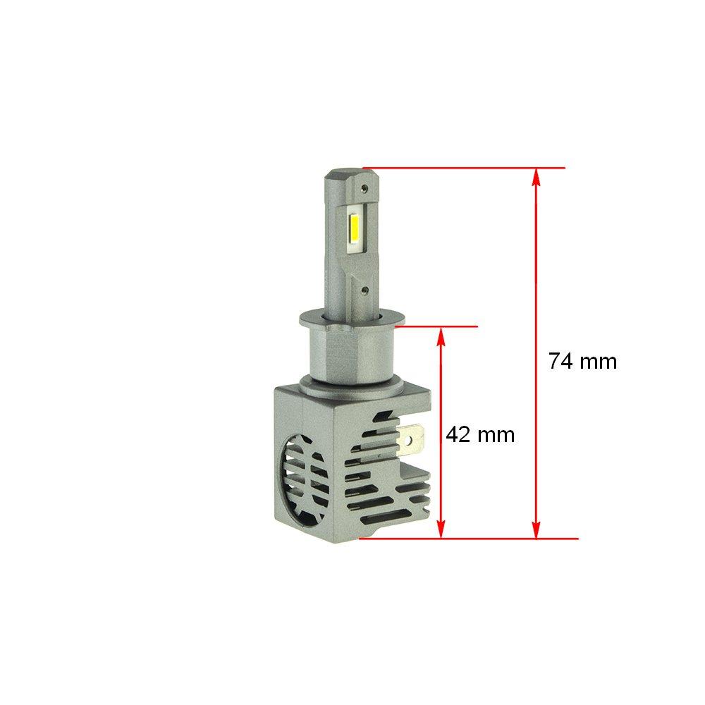 CYCLONE LED H3 5000K 4600Lm type 33 - Фото 2