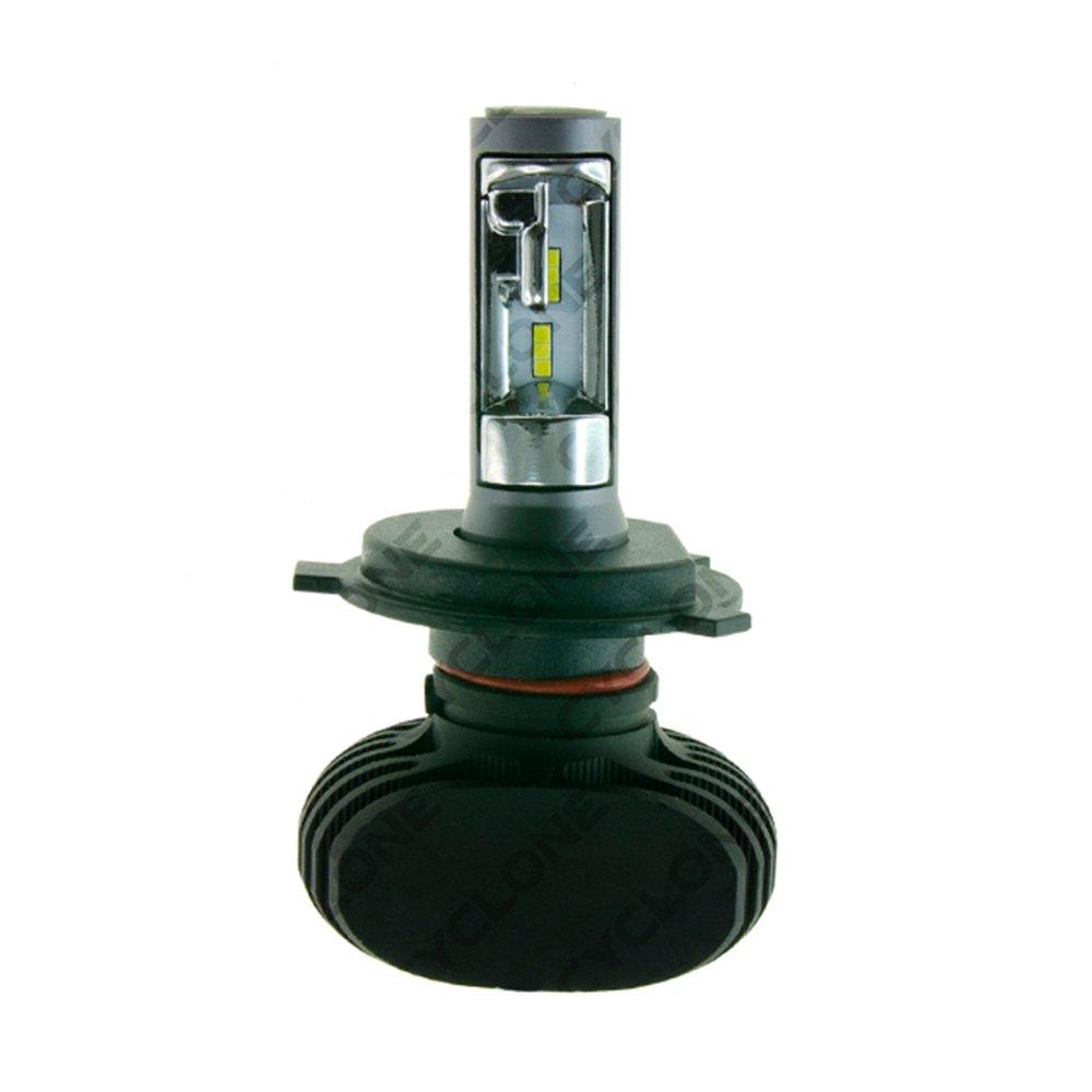 CYCLONE LED H4 Hi/Low 5000K 4000Lm type 9 v3 - Фото 1
