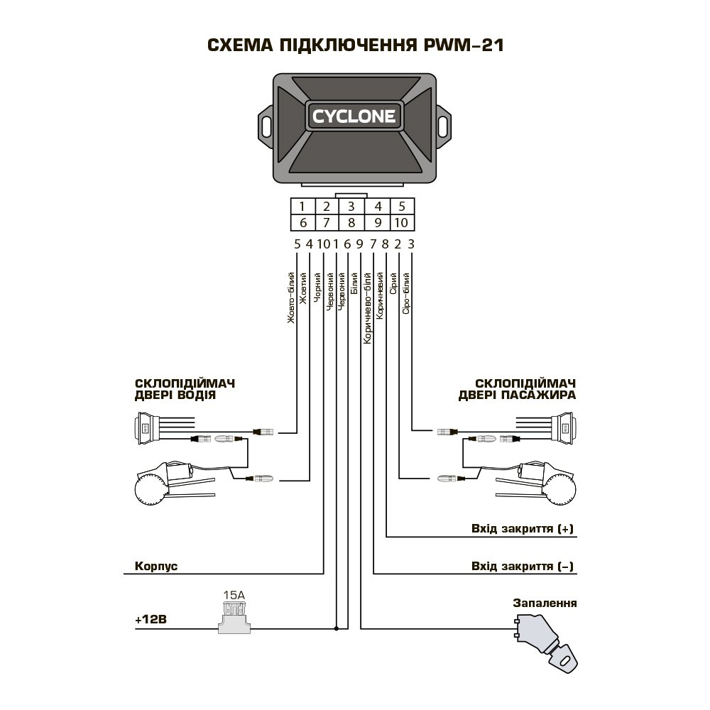 CYCLONE PWM-21 - Фото 3