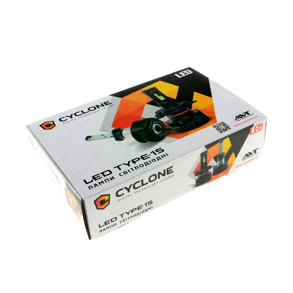 CYCLONE LED H7 5000K 4000Lm CSP type 15 - Фото 4