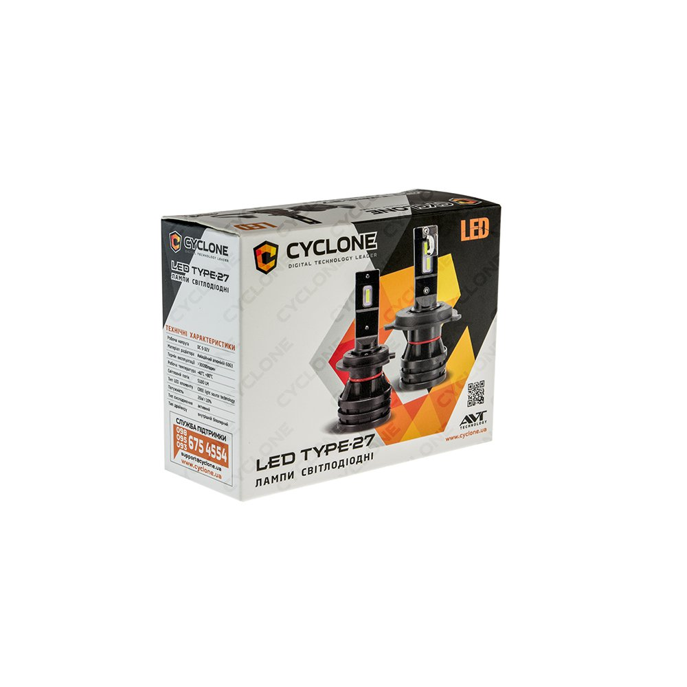 CYCLONE LED H16 5000K 5100-Lm CR type 27 - Фото 3