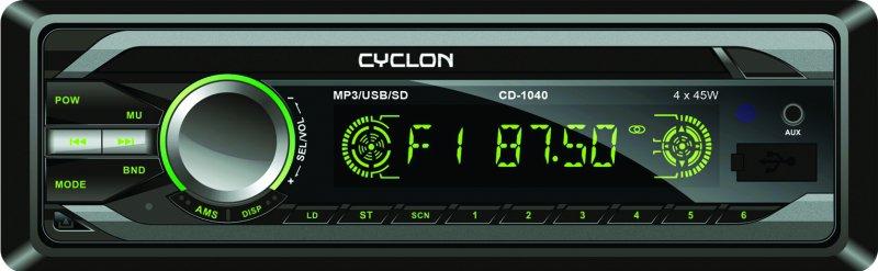 Автомагнитола CYCLON MP-1040G