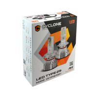 CYCLONE LED H4 H/L 5000K 6000Lm CR type 29