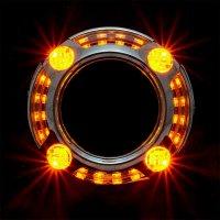 "CYCLONE Маска S-23 (2.5"", 3.0"") PM DRL+TURN"