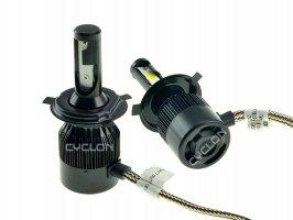 CYCLONE LED H4 Hi/Low 6000K 3200Lm type 12