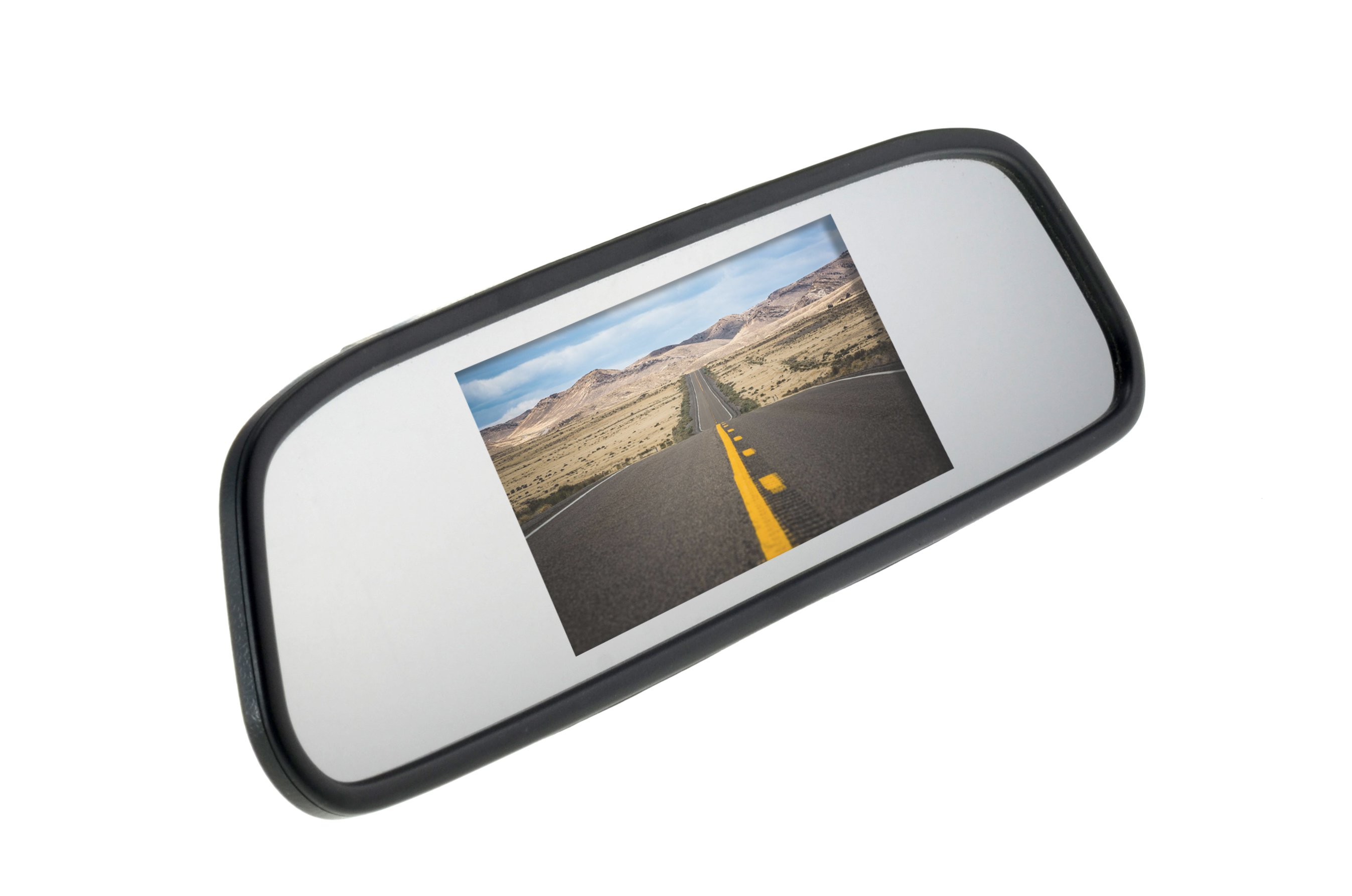 Mirror with monitor